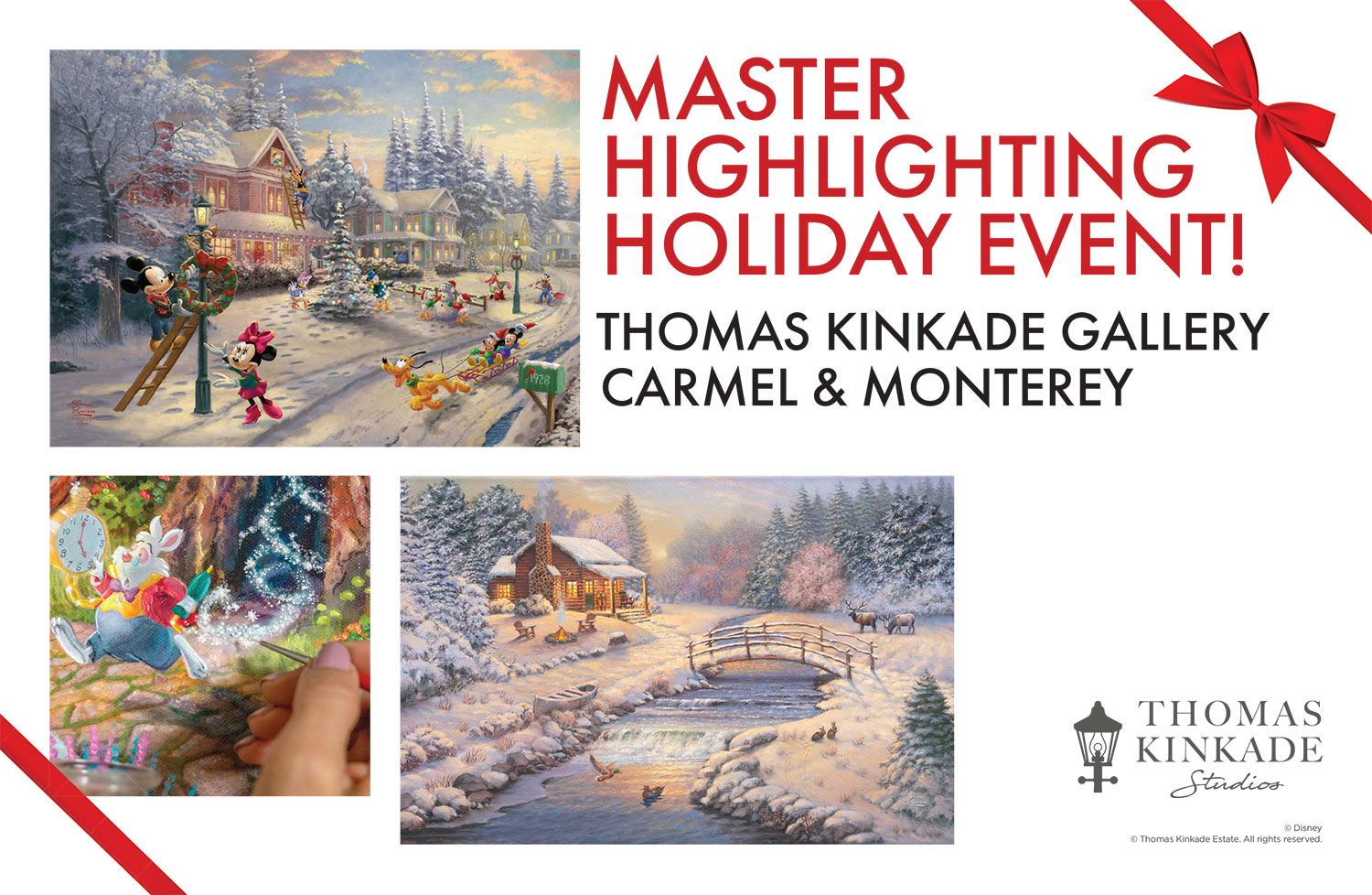 Master Highlighting Holiday Event, Carmel & Monterey
