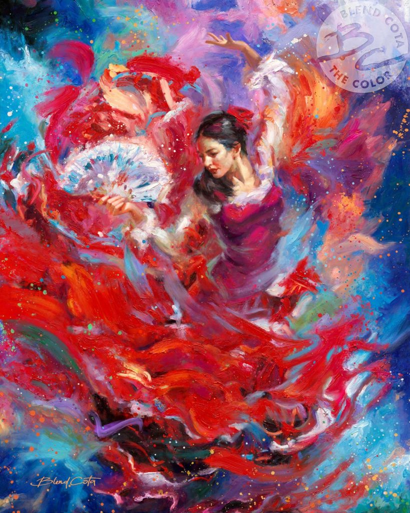 Blend Cota Flamenco Dancer