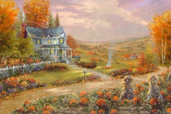 Paintings For Pumpkin Spice Season