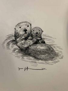 Otterly Ridiculous Sketch, Zac Kinkade