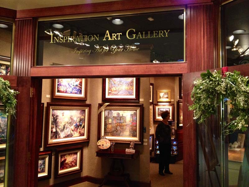 Thomas Kinkade's Inspiration Art Gallery-Memphis
