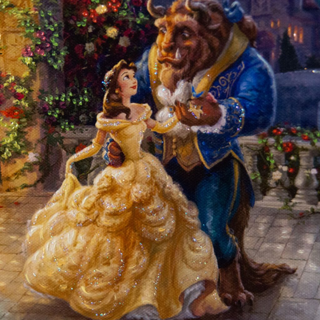 Beauty and the Beast Dancing in the Moonlight