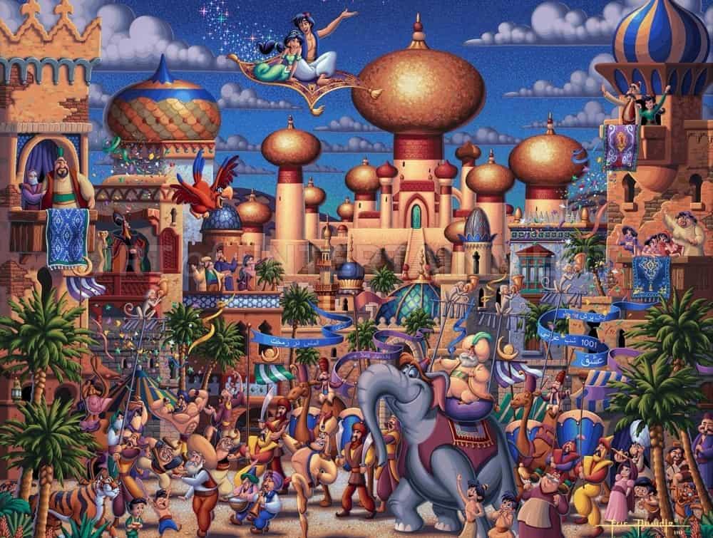 Aladdin - Celebration in Agrabah