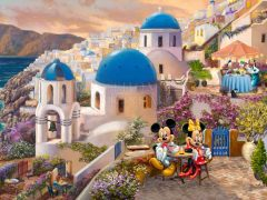 Disney Mickey and Minnie in Greece