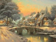 Cobblestone Christmas