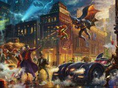 The Dark Knight Saves Gotham City