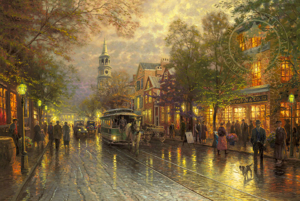 Evening on the Avenue