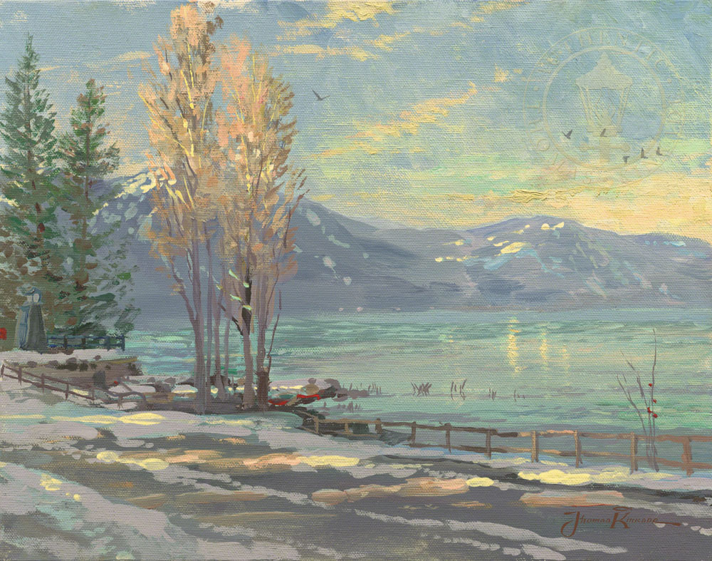 Lake Tahoe Shoreline, Winter