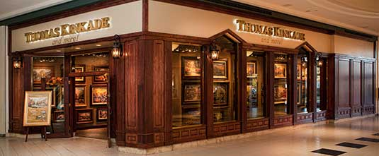 Wolfchase Galleria Mall Thomas Kinkade