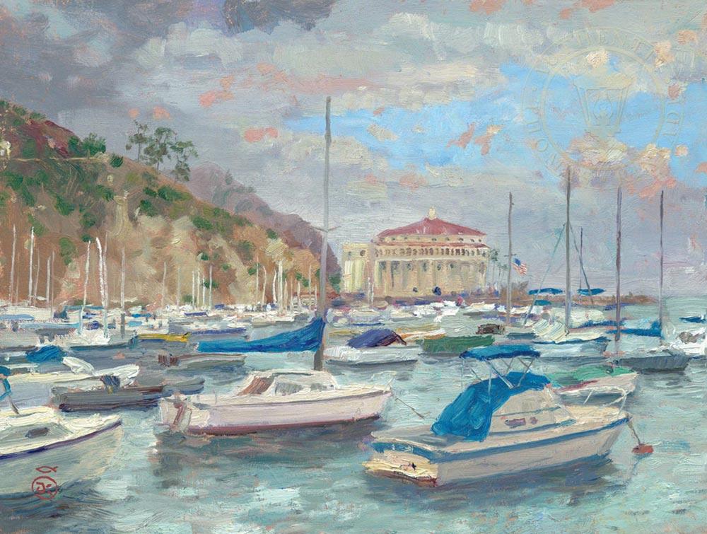 Marina & Harbor Paintings