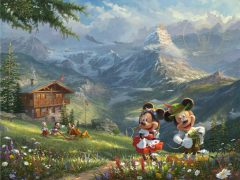 Passport to Adventure - Mickey and Minnie in the Alps
