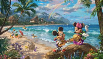 Mickey & Minnie Hawaii