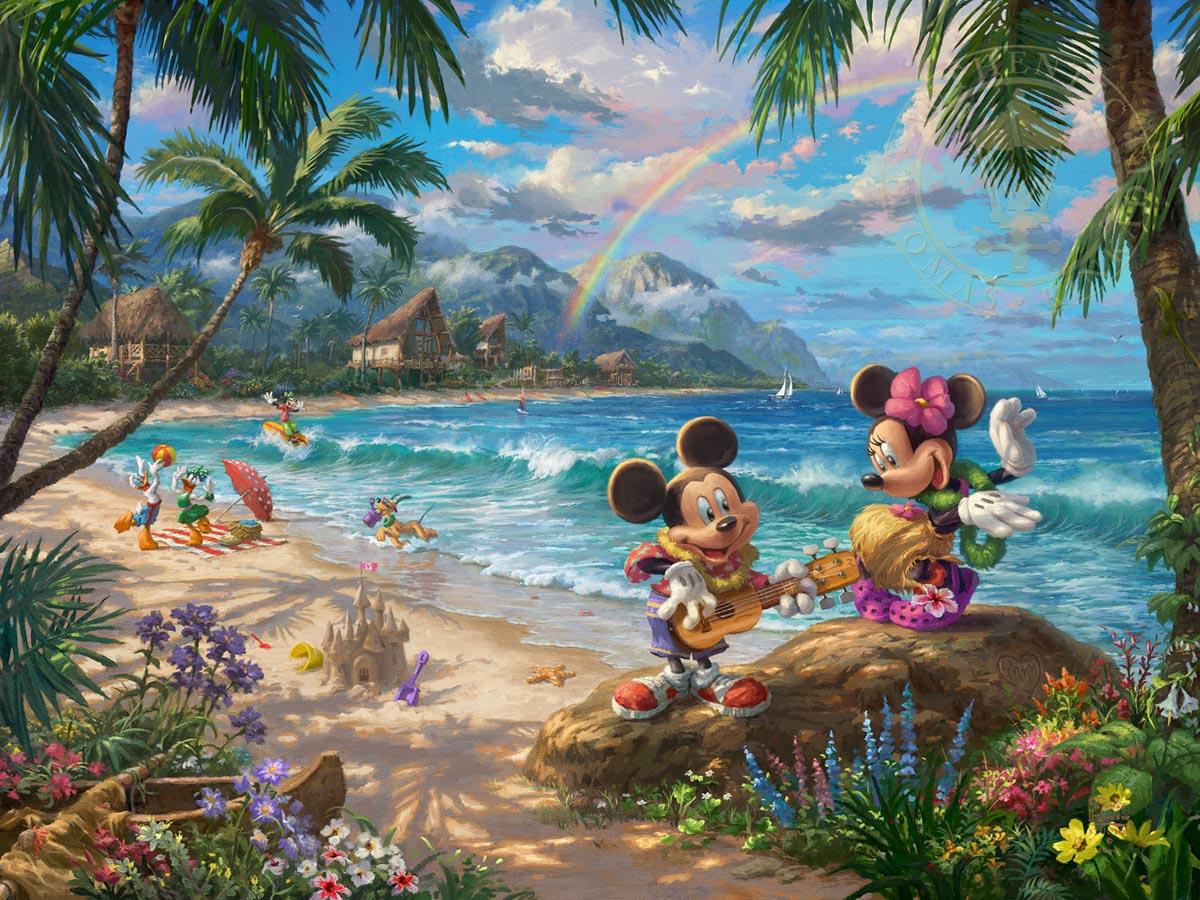 Mickey & Minnie Hawaii