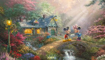 Disney Mickey and Minnie: Sweetheart Bridge
