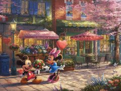 Mickey and Minnie - Sweetheart Cafè
