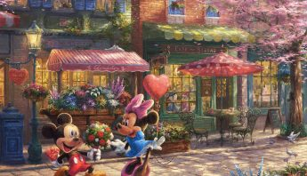 Mickey and Minnie - Sweetheart Cafè