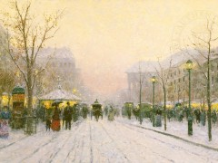 Paris Snowfall