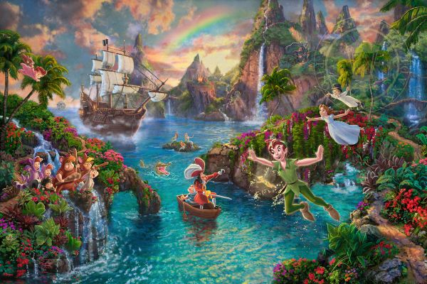 Disney Movie Paintings For Family Rooms