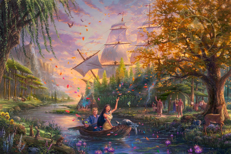 Pocahontas Painting