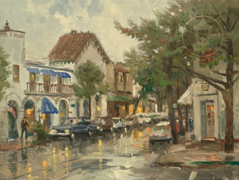 Rainy Day in Carmel