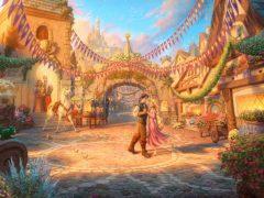 Rapunzel Dancing
