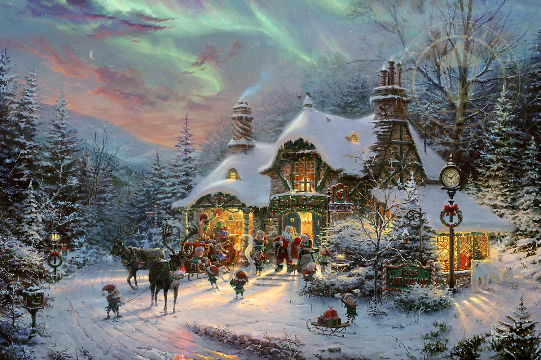 Santa's Night Before Christmas