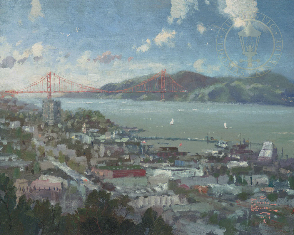 San Francisco, View from Coit Tower