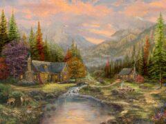 Sierra Paradise Painting
