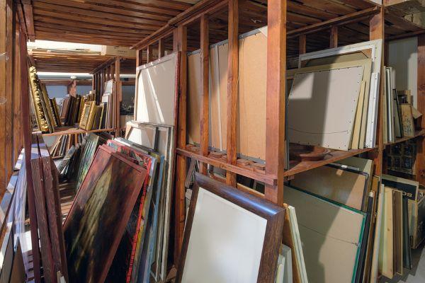 Storing Paintings