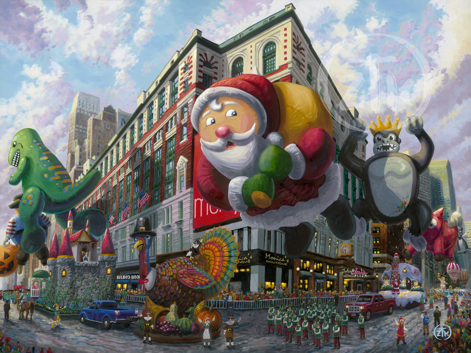 Thanksgiving In New York by Zac Kinkade